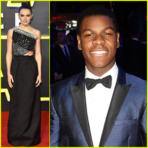 Daisy Ridley & John Boyega Premiere 'Star Wars' in Europe!