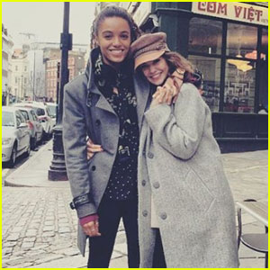 Danielle Campbell Shares More Photos From Her London Adventures!