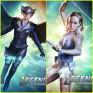 Ciara Renee, Caity Lotz & Arthur Darvill Get Character Posters For 'DC's Legends of Tomorrow' - See Them Here!