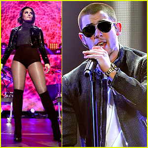 Demi Lovato & Nick Jonas Bring The 'Future Now' Tour To Jingle Ball 2015 in Oakland