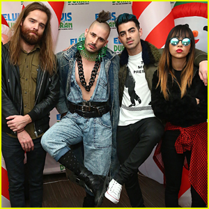 DNCE Meet Santa At Elvis Duran's Morning Show Ahead of Jingle Ball 2015