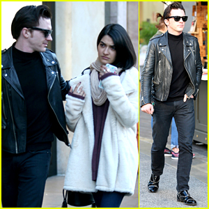 Drake Bell Shops For the Holidays with Girlfriend Janet Von Schmeling