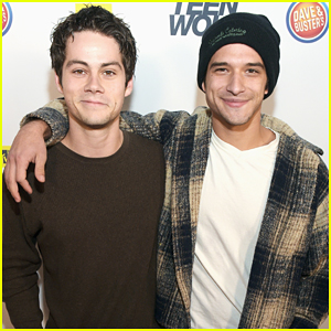 Dylan O'Brien & Tyler Posey Reunite At 'Teen Wolf' L.A. Premiere Party!