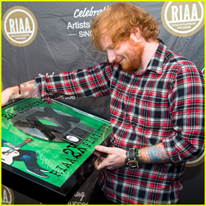 Ed Sheeran's 'X' Receives RIAA's 2X Multi-Platinum Award