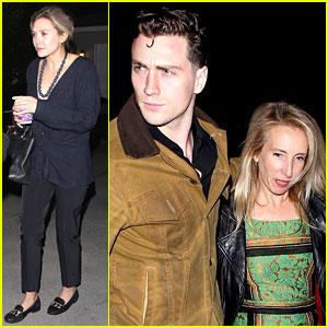 Elizabeth Olsen Reunites with Fellow Maximoff Twin Aaron Taylor-Johnson!
