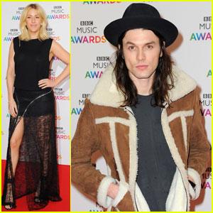 Ellie Goulding Attends BBC Muisc Awards After Golden Globes Nomination