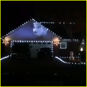 This 'Frozen' Christmas Light Show Is Amazing - Watch Now!