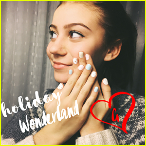 G Hannelius Dishes On Make Me Nails Holiday Collection, 'Roots' & More With JJJ (Exclusive Interview)