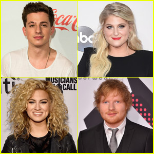 Meghan Trainor, Charlie Puth, Tori Kelly, & More React to Their Grammy Nominations!