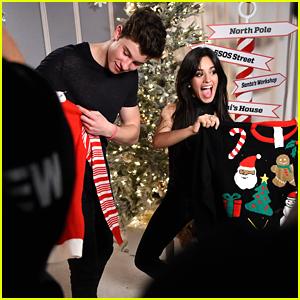 Shawn Mendes & Camila Cabello Are Christmas Cuties At Jingle Ball LA 2015