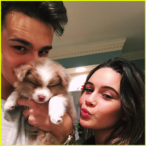 Jacob Whitesides Shares Cute 'Family' Pic with Bea Miller & New Pup Ollie