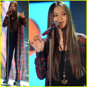 Singer Jasmine Thompson Covers 'Never Let Me Go' By Florence + the Machine - Watch Now!