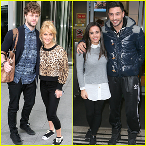 Jay McGuiness & Georgia May Foote Hype Up 'Strictly Come Dancing' Ahead of Finals This Weekend