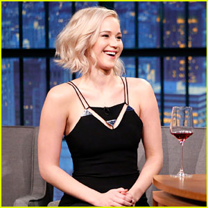 Jennifer Lawrence Once Had a Crush on Seth Meyers!