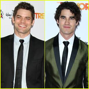 Supergirl's Jeremy Jordan & Glee's Darren Criss Step Out for TrevorLIVE!