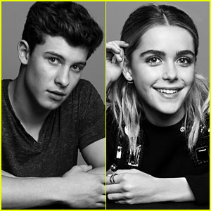 Shawn Mendes & Kiernan Shipka Pose for JJJ's Jingle Ball Portraits!