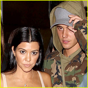 Justin Bieber & Kourtney Kardashian Were 'Inseparable' This Weekend