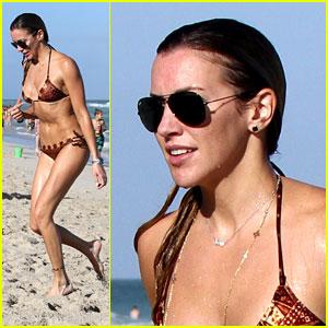 Arrow's Katie Cassidy Shares Her Beach Day Essentials