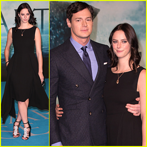 Kaya Scodelario Supports Fiance Ben Walker At 'In The Heart of the Sea' Premiere