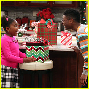 Judy Celebrates Her First Christmas On 'K.C. Undercover'