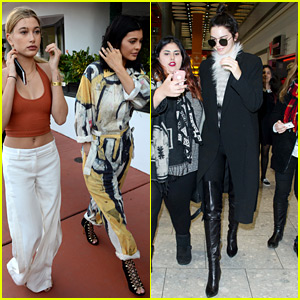 Kendall & Kylie Jenner Step Out Separately After New Baby Added to the Family!