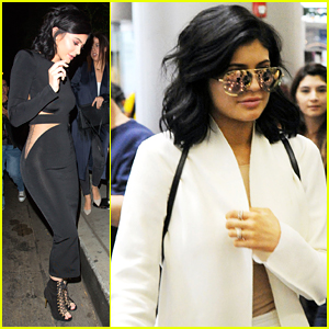 Kylie Jenner Arrives To Miami For Art Basel