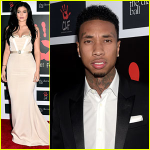 Kylie Jenner Glams Up for Diamond Ball with Tyga & Justine Skye!