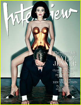 Kylie Jenner Takes the Cover of 'Interview' Dec/Jan Issue!