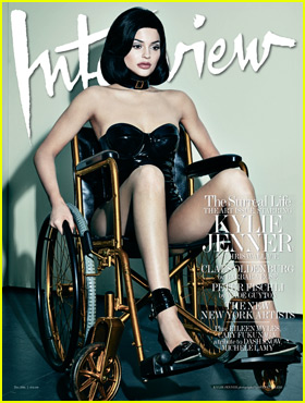 Kylie Jenner Receives Backlash Over 'Interview' Mag Wheelchair Photos