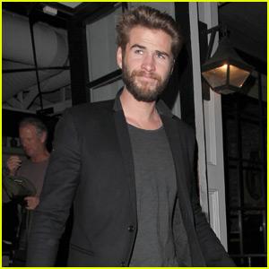 Liam Hemsworth Brings Mom & Dad to Dinner at Gracias Madre