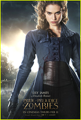 Lily James & Suki Waterhouse Get Character Posters For 'Pride and Prejudice and Zombies'
