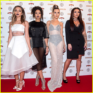 Little Mix Go See-Through For Cosmopolitan's Women Of The Year Awards After Announcing New Tour Dates