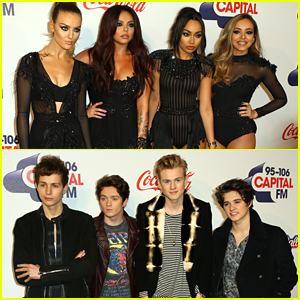 The Vamps Show Their Bare Bums On Instagram Ahead Of CapitalFM's Jingle Bell Ball!