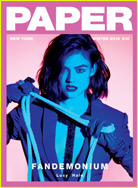 Lucy Hale Causes 'Fandemonium' on New 'Paper' Mag Cover