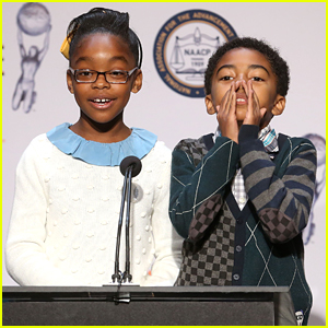 black-ish's Marsai Martin & Miles Brown Pick Up TWO NAACP Image Awards Nominations!