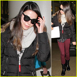 Miranda Cosgrove Returns To LA After 'School Of Rock' Reunion
