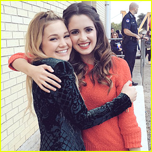 Olivia Holt Makes Good On Promise To Take Selfies With Laura Marano