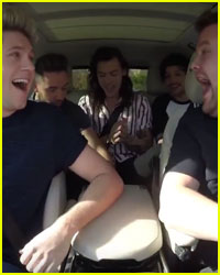 One Direction's Carpool Karaoke With James Corden Debuts Tomorrow!