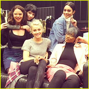 Carly Rae Jepsen Presents The Pink Ladies From 'Grease Live' - See The Pics!
