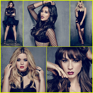 Sasha Pieterse & Lucy Hale Get Steamy New Posters for 'Pretty Little Liars' - See Them All Here!