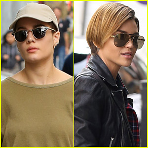 Halsey & Ruby Rose Grab Lunch Together in Hollywood