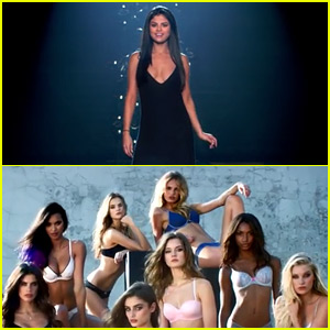 Selena Gomez Lip Syncs 'Hands to Myself' with the VS Angels - Watch Now!