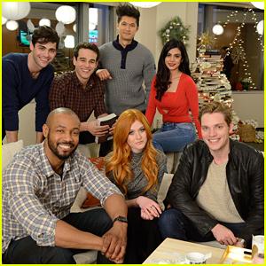 'Shadowhunters' Cast Surprise Fans For Pop-Up Santa Event