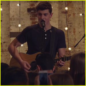 Shawn Mendes Performs 'Act Like You Love Me' Live - Watch Now!