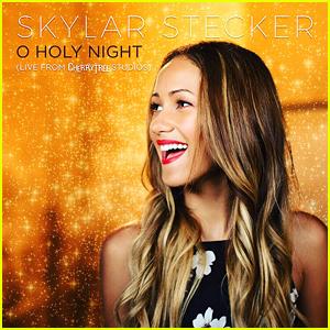 Skylar Stecker Shares 'O Holy Night' Performance Vid - Watch Now!