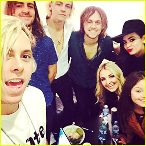Sofia Carson Reunites With Ross Lynch & R5 In Argentina - See the Pics!