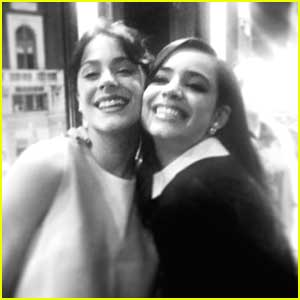 Sofia Carson Shares Glam Selfie With Violetta's Martina Stoessel