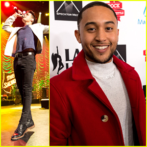 Jacob Whitesides & Tahj Mowry Spread Holiday Cheer at Rock The Red Kettle Concert