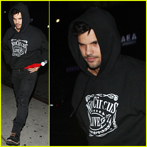 Taylor Lautner's New Movie Terrified Him!