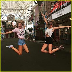 Taylor Swift & Blake Lively Jump for Joy in Australia!